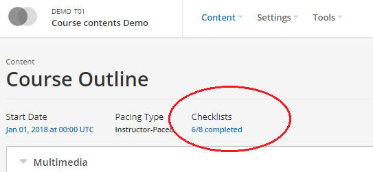 Course_Quality_Checklists